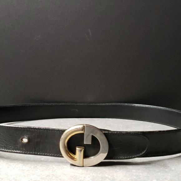 55ecdd0fa Gucci Accessories | Vintage Mens Belt Reversible Gg | Poshmark